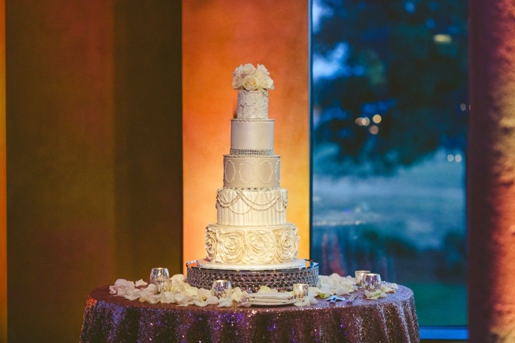 Chic White Wedding, Buttercream Cake| Bella Collina | Concept Photography | Vangie's Events of Distinction