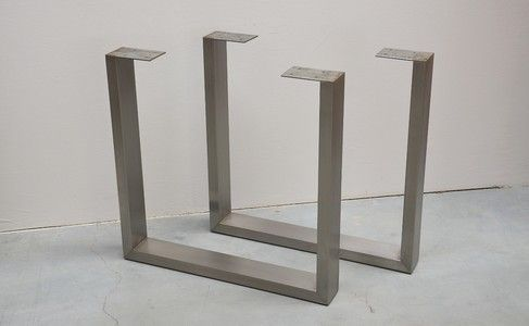 U Shaped Stainless Steel Table Legs Photo Detailed About U Shaped