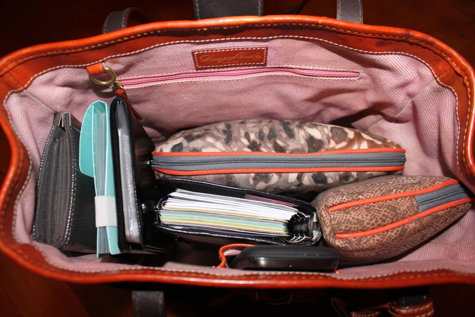 My Great Challenge How To Organize Your Purse