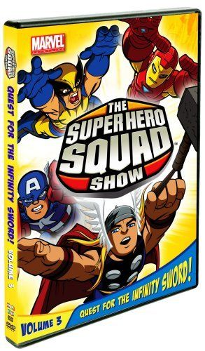 The Super Hero Squad Show Quest For The Infinity Sword Volume Three Marvel Kids Hero Superhero