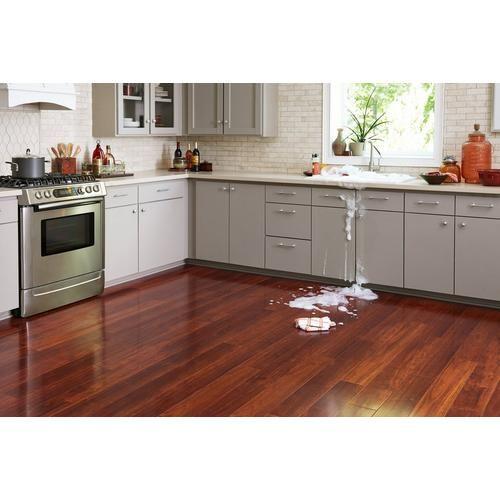 Cherry High Gloss Water Resistant Laminate Wood Floor Kitchen Cherry Wood Floors Cherry Hardwood Flooring