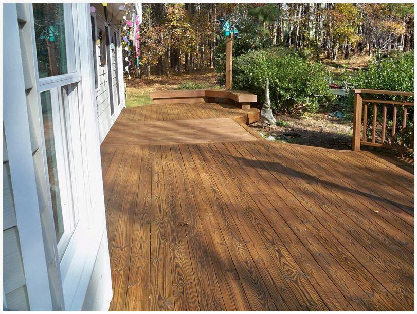Twp Dark Oak Deck Stain Colors Paint Exterior Porch Flooring
