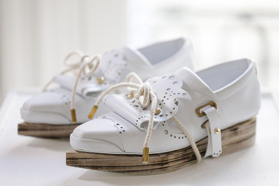 CHRISSIE HOUTKOOPER. Amsterdam. Modern Heritage. Shoes designer - Netherlands #shoes #designer #style ©Sunanda Koning