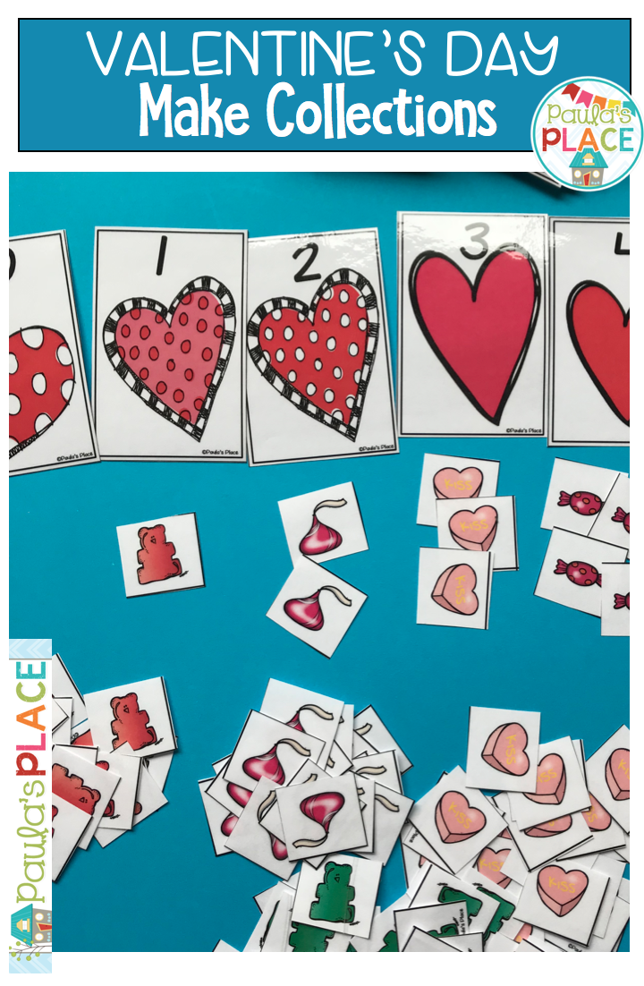 Sequencing Numbers and Making Collections Valentine\'s Day | Early ...