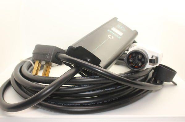 Nema 14 50 Plug Sae J1772 Type 1 Adjustable 32a 24a 16a Mode 2 Portable Evse 5m Cable Domestic Plug Home Charger Ev Charger V Ev Charger Plugs Charger