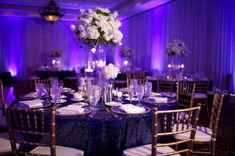 Modern Navy And Gold Wedding Purple Navy Wedding Purple Wedding