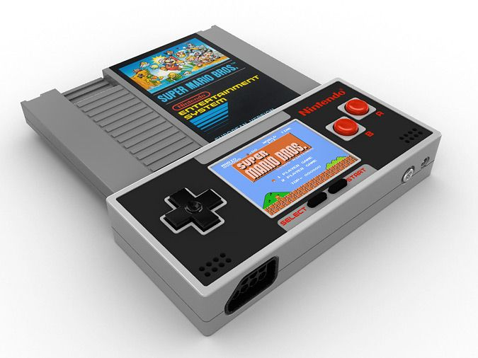 Portable Nes Holy Crap That 39 S Cool I Wonder How Hard It