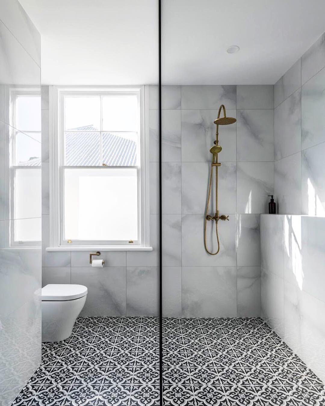 Amber Tiles Kellyville Pinned From Instagram Bighouselittlehouse Decorative Bathroom Floo Bathroom Wall Tile Bathroom Interior Design Bathroom Floor Tiles