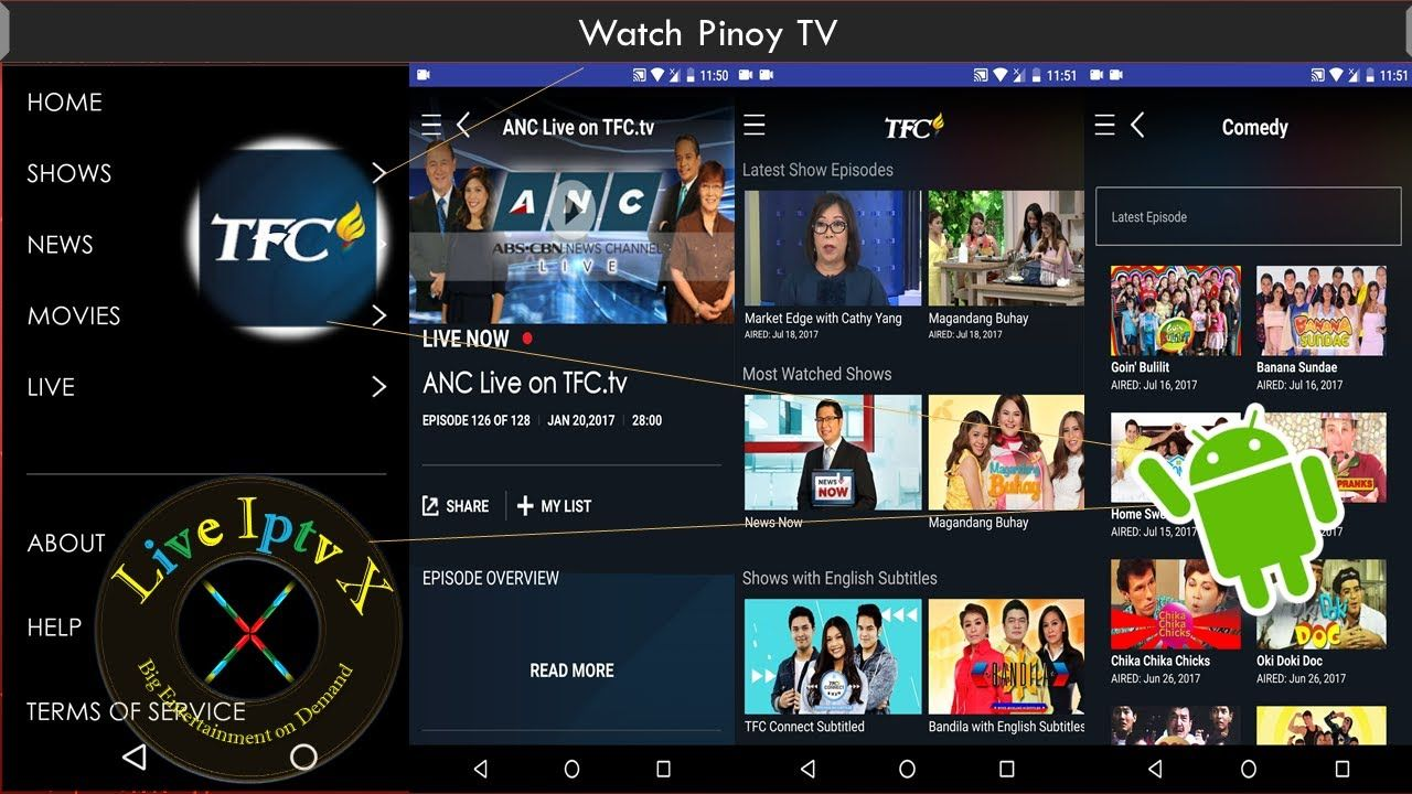 Watch Filipino Tagalog Movies Shows With TFC Pinoy TV