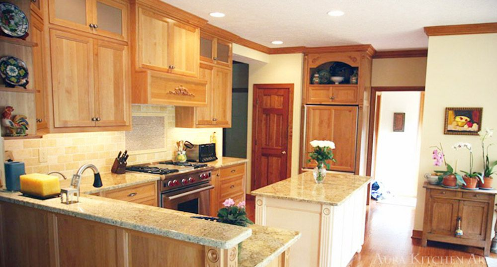 Aura Kitchens and Cabinetry is a reputable custom designer ...