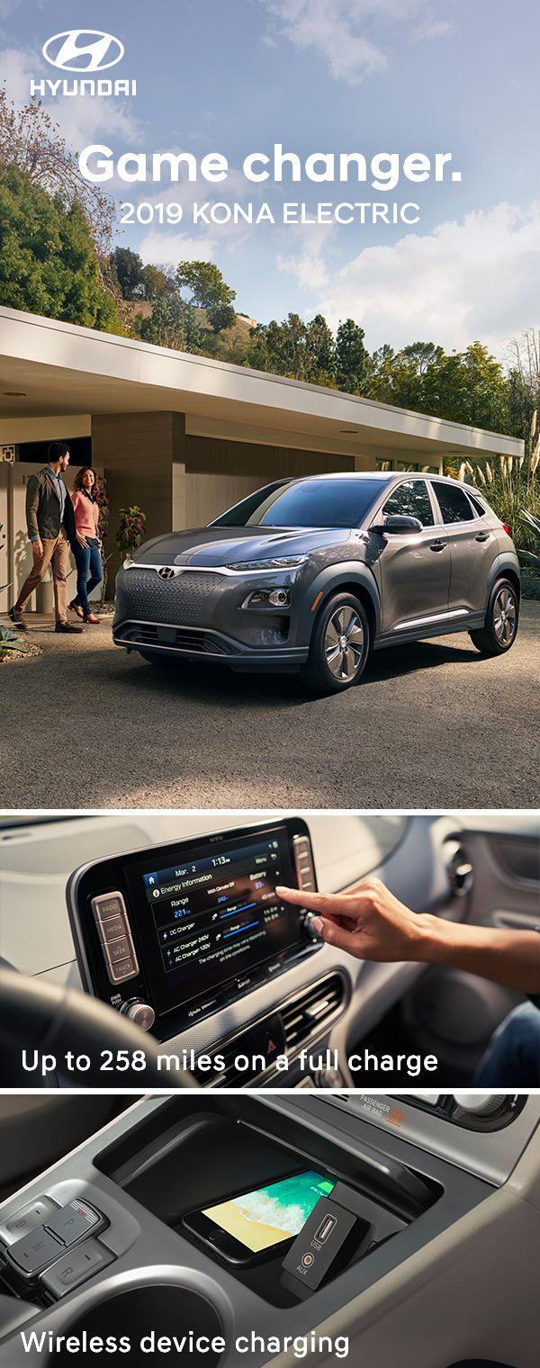 to the firstever Kona Electric. Hyundai