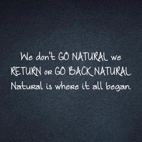We Do Not Go Natural We Return Or Go Back To Natural Natural Is Where It All Began Natural Hair Quotes Natural Hair Styles Natural Hair Beauty