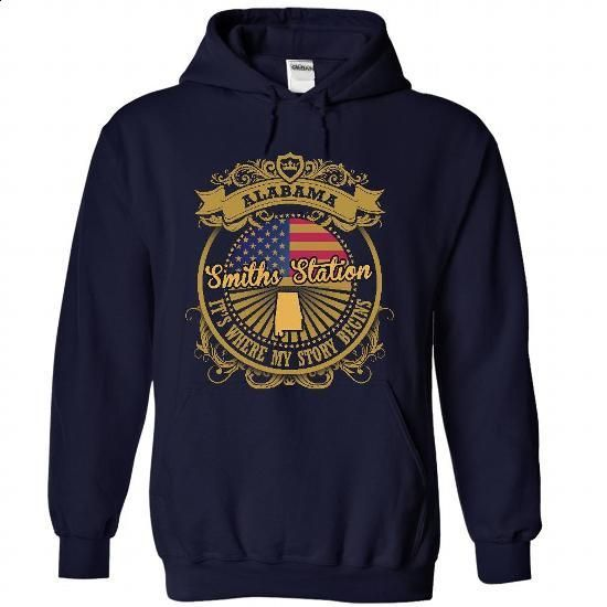 Smiths Station - Alabama Is Where Your Story Begins 220 - #teeshirt #cute hoodies. SIMILAR ITEMS => https://www.sunfrog.com/States/Smiths-Station--Alabama-Is-Where-Your-Story-Begins-2205-6713-NavyBlue-48581204-Hoodie.html?id=60505