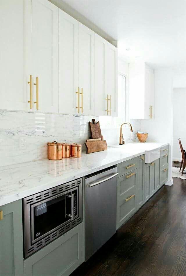 Best Modern Kitchen Design White Cabinets On Top Grey 400 x 300