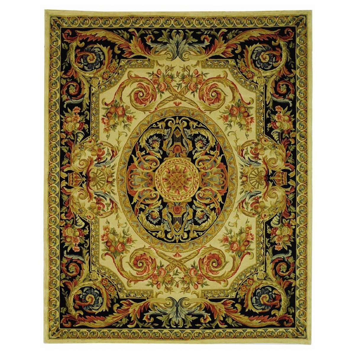 French Savonnerie rug.