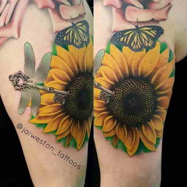 60 Tatuajes De Girasoles Y Que Quieren Decir Tatuaje De Girasol Tatuajes Girasoles Significados De Tatuajes De Flores