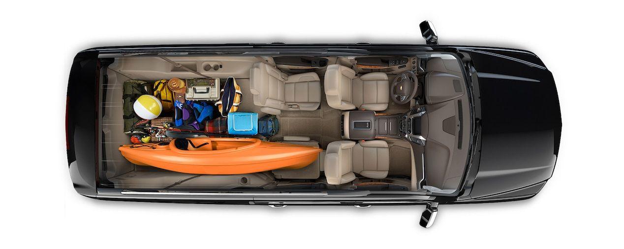 2018 Suburban Suv Design Interior Cargo Family Trip Chevy