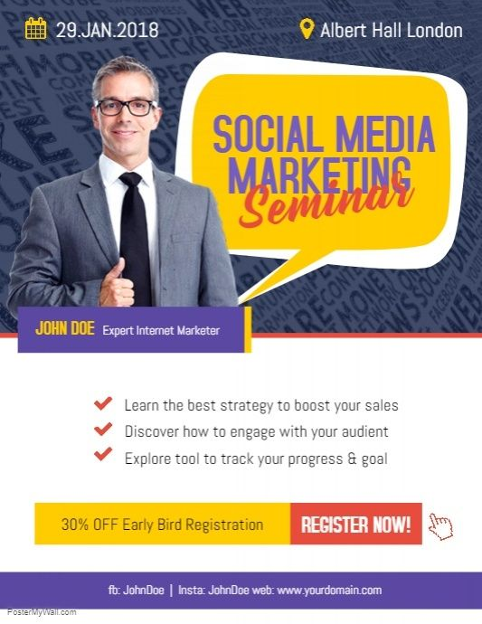 Social media business marketing flyer poster modern business flyer social media business marketing flyer poster modern business flyer template pinterest business flyer templates business flyer and marketing flyers flashek Choice Image