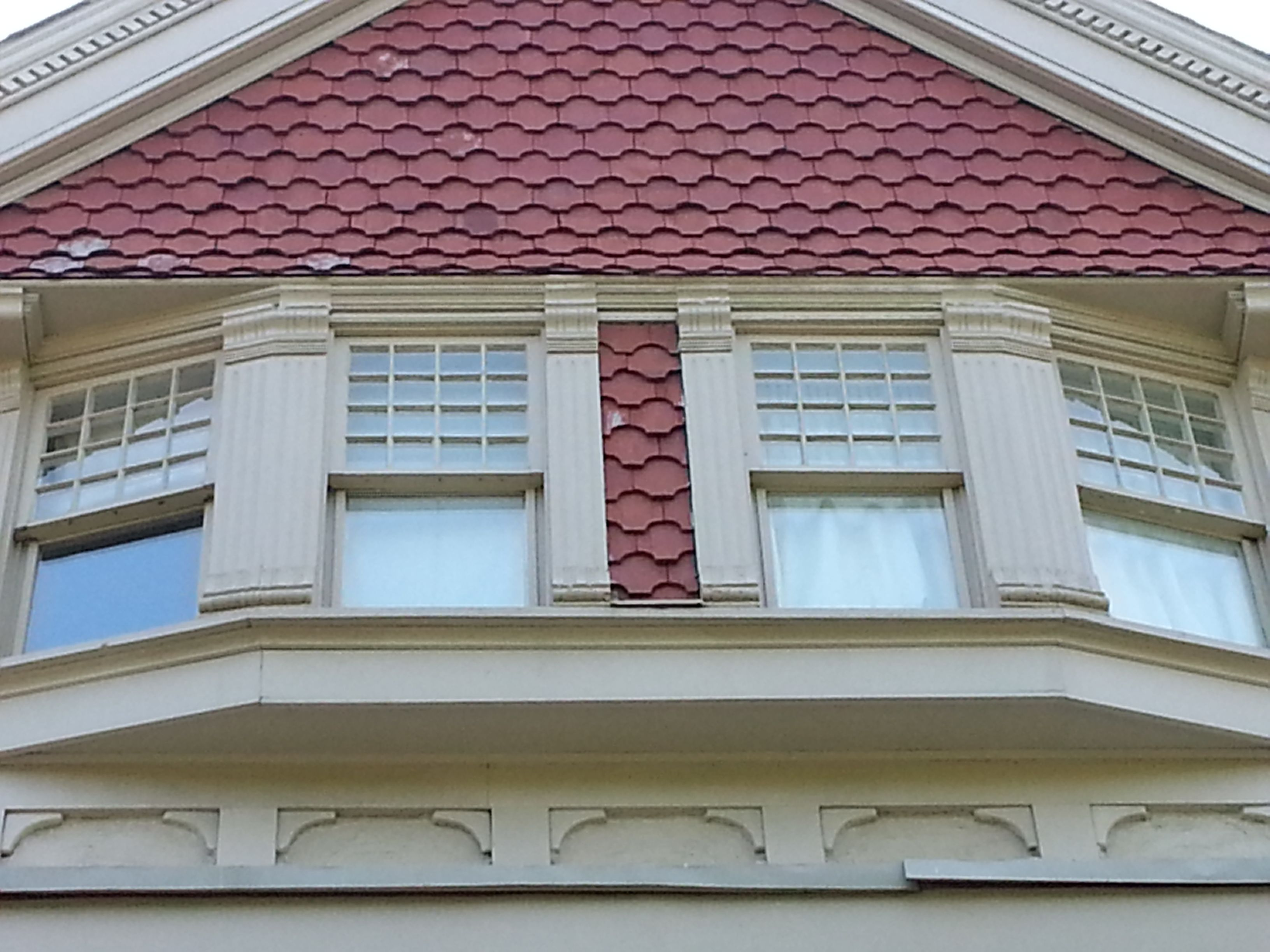 Clay Tile and Paint | Brick Houses Toronto | Pinterest | Clay tiles