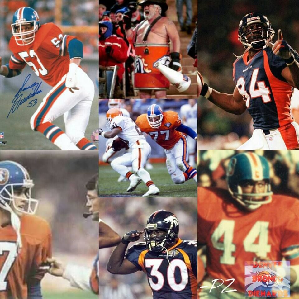 old school Broncos and when I first became a fan Broncos