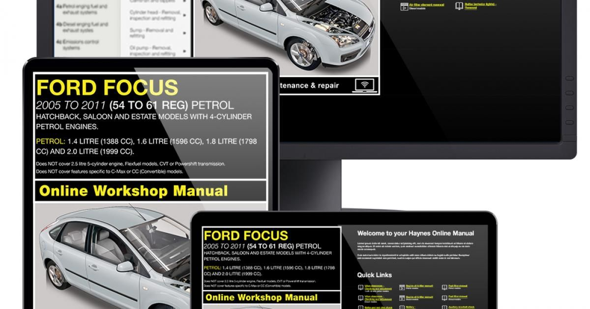 17 Videos Free With Every Online Ford Focus Workshop Manual Https Haynes Com En Gb Tips Tutorials 17 Videos Free Every In 2020 Ford Focus Ford Focus Manual Workshop