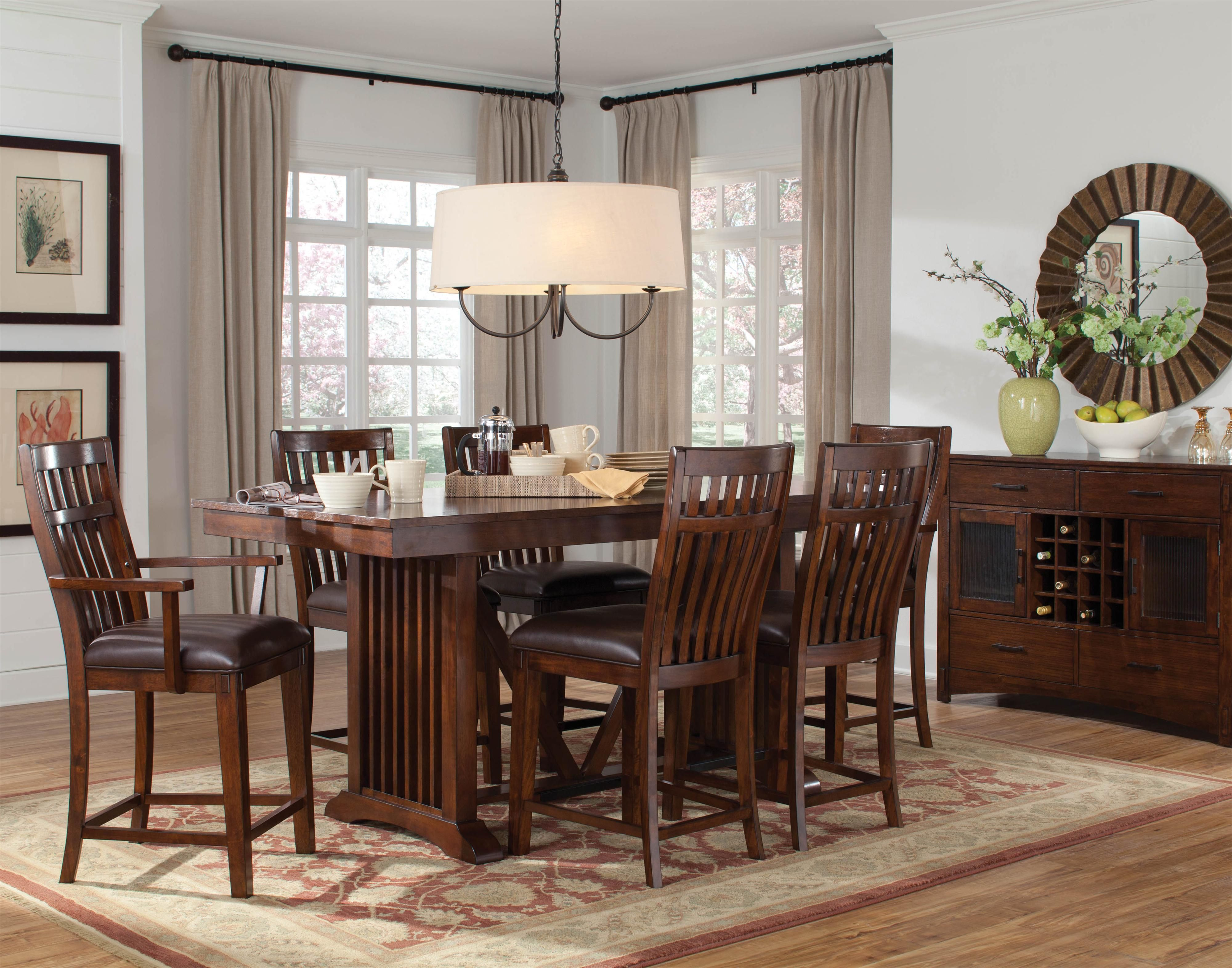 Artisan Loft Dining Room Group By Standard Furniture Dining Rooms