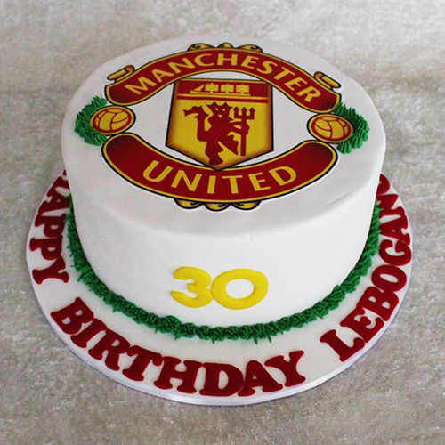 Manchester United Cake By Cutie Cakes Cake Manchester United Cake Soccer Cake