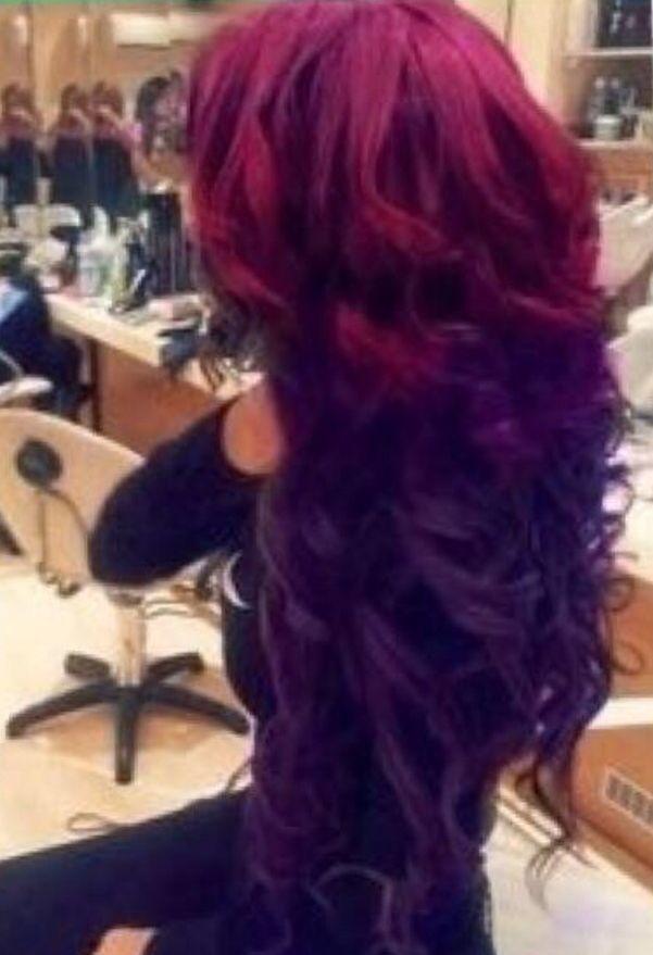 Red Violet Matrix Hd Hair Styles Long Hair Styles