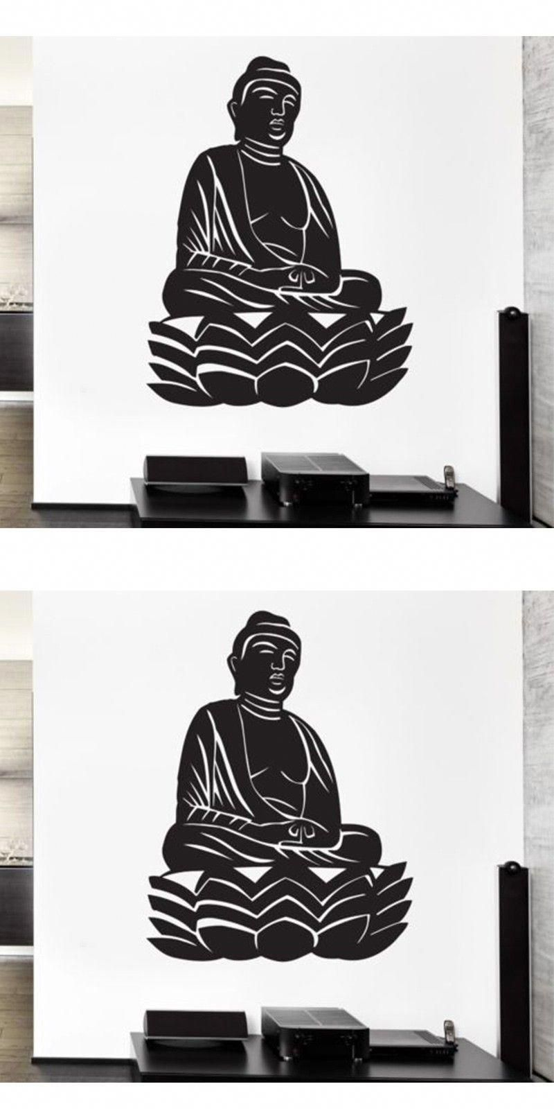 meditate meditationnews bedroom stickers zen on wall stickers for home id=71079