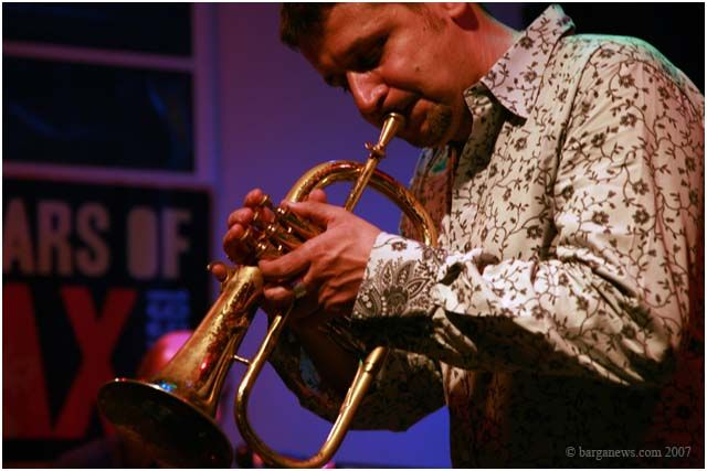 Barga Jazz Ensemble featuring Marco Tamburini and the A Cumpagnia vocal Group at LUCCANFITEATROJAZZ