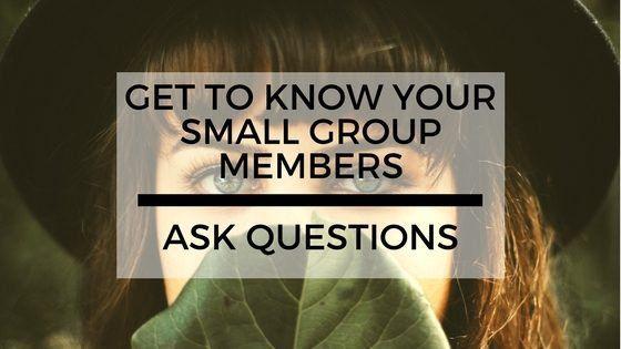 Fragen zum kennenlernen in gruppen