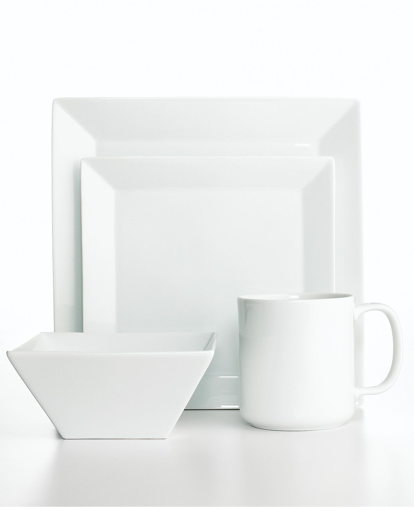 The Cellar Whiteware Square Collection Created for Macy\u0027s - Casual Dining - Macy\u0027s. White DinnerwareCasual ...  sc 1 st  Pinterest & The Cellar Whiteware Square Collection Created for Macy\u0027s | Casual ...