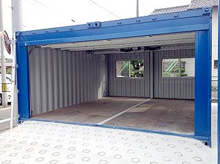 Amazing Electric Shutter Garage 20 Ft Container 2 Connection. Storage Container  HomesContainer ShopShipping ...