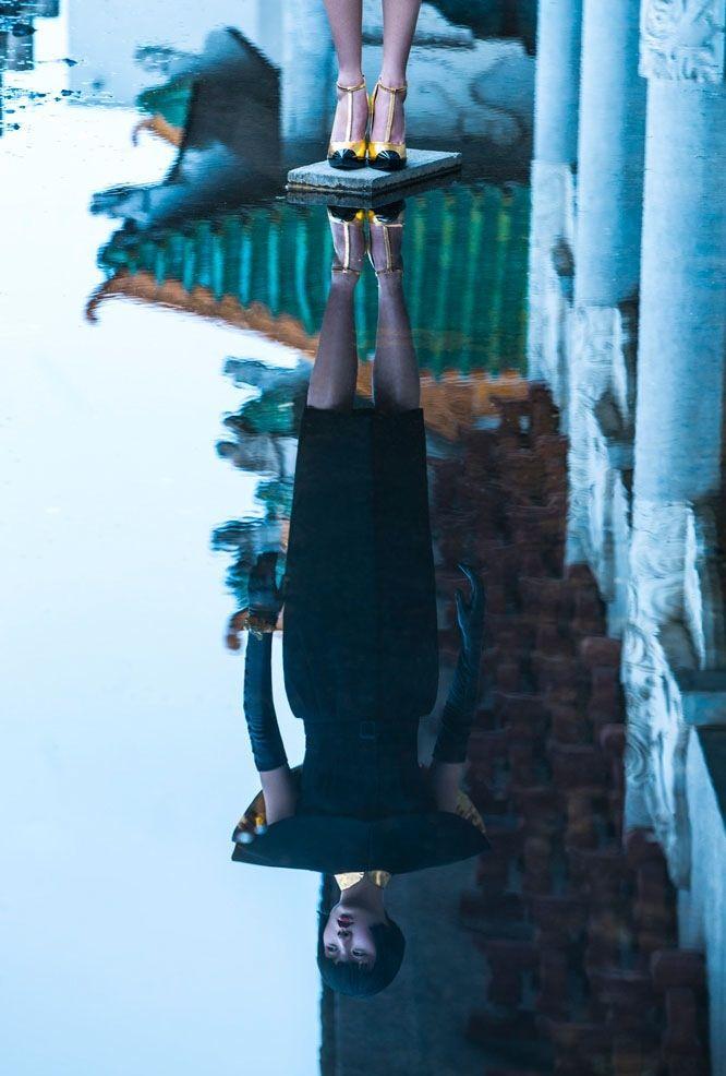 Ling Yue por Michelle Du Xuan para Lofficiel China Outubro 2014