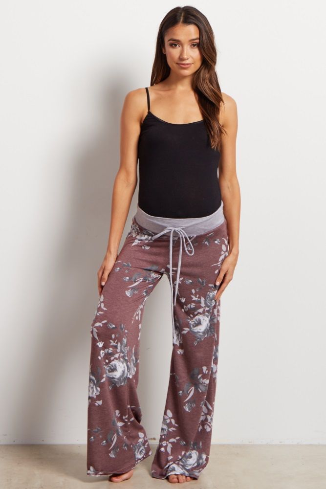 5e6b4d458821 Add some fun to your loungewear with these printed pjs. A drawstring  waistband for customized comfort and a pretty floral print to make bedtime  a beautiful ...