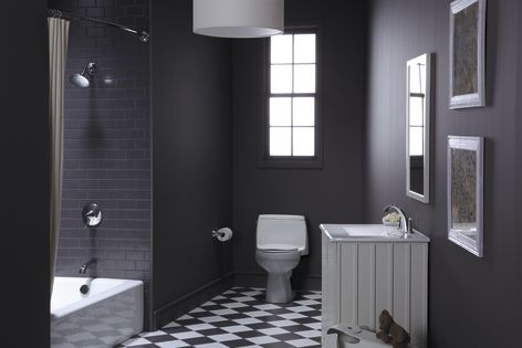 Classic Black And White Bathroom Bathroom Design New Bathroom Ideas