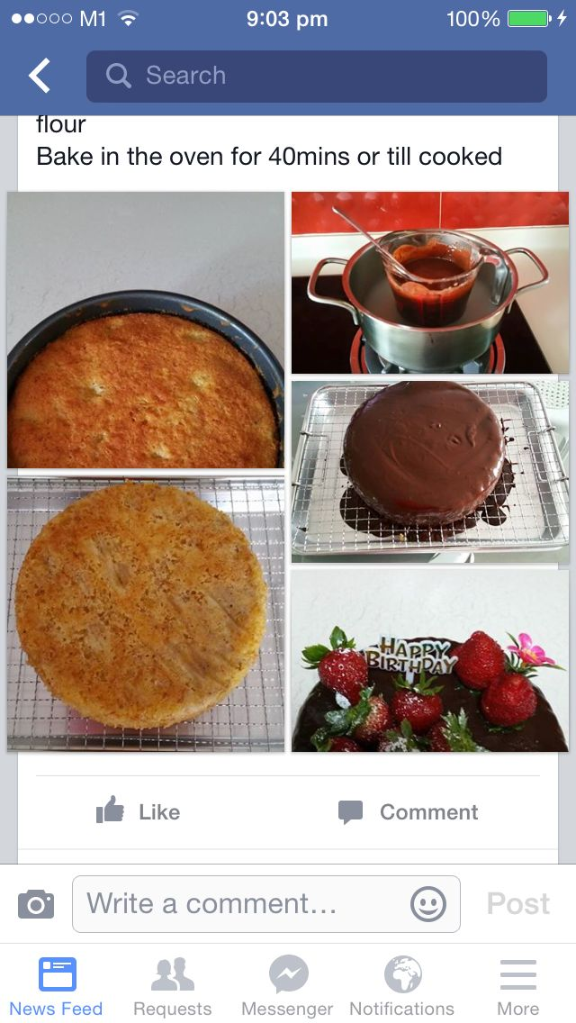 Banana Cake Receipe
