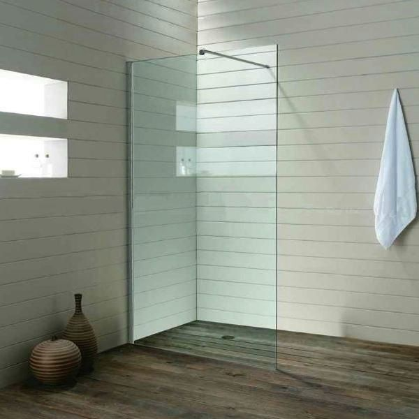 Details zu Duschwand 10mm Walk in Seitenwand Dusche 70-140 x 200 cm ...