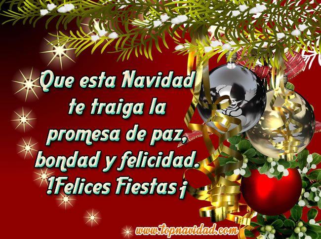 Frases com decoraciones de feliz navidad navidad - Tarjetas felicitacion navidad ...
