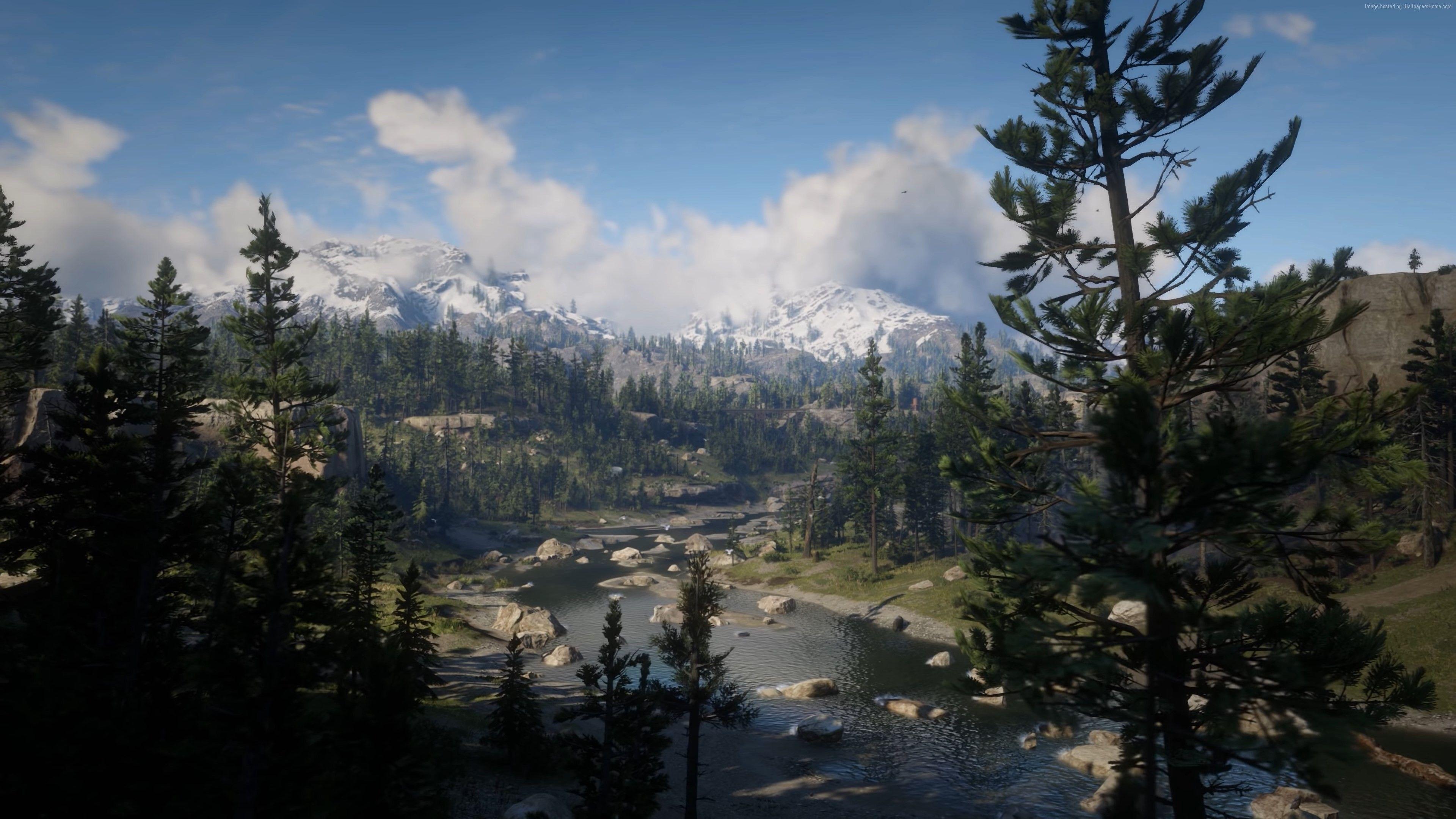 Wallpaper Red Dead Redemption 2 Screenshot 4k Games