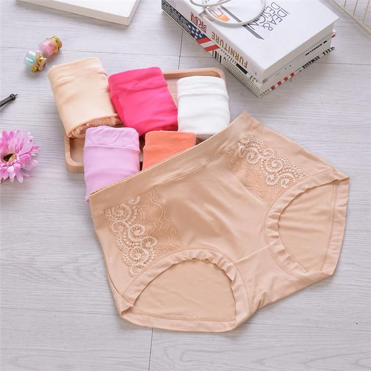 5b9961d80c4  326 Bamboo Fiber Modal Female Sexy Underwear Lace High Rise Briefs  Wholesale Lingerie Women s Underpants Panties Online with  4.92 Piece on  Orientaladmis s ...