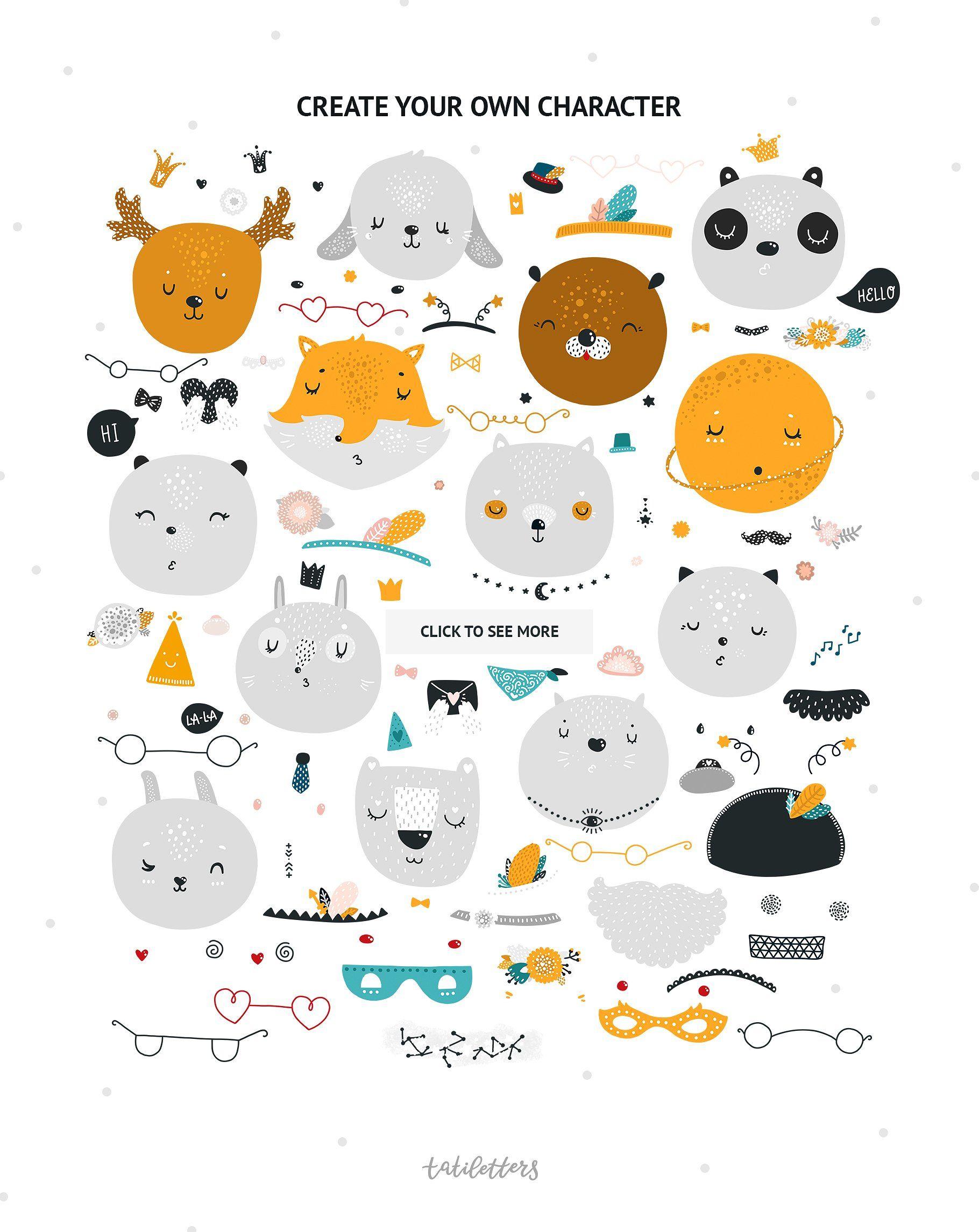 Nursery Art Animals Lettering Nursery Animal Prints Animal Nursery Art Nursery Art