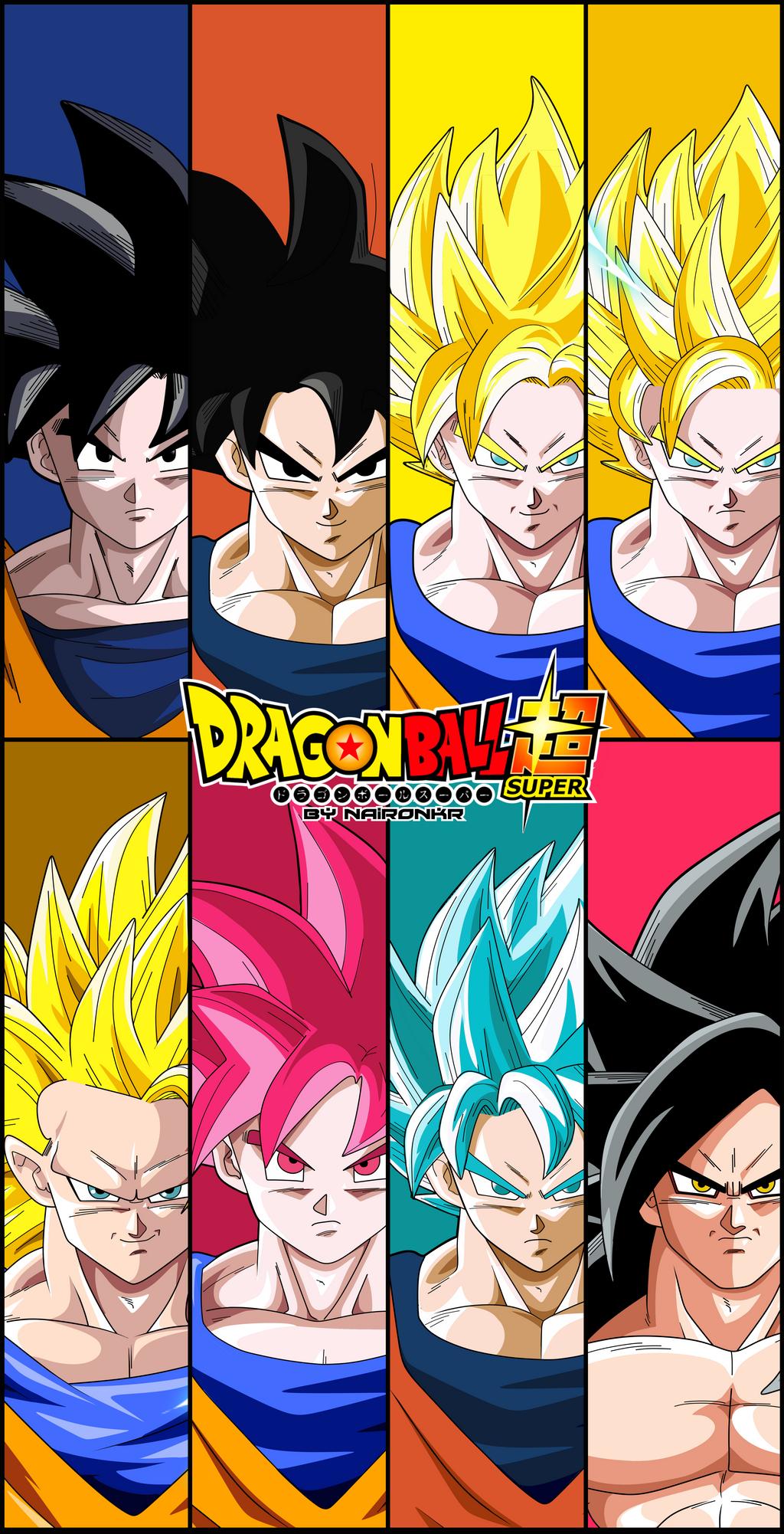 dragon ball super poster goku v.4 by naironkr on DeviantArt