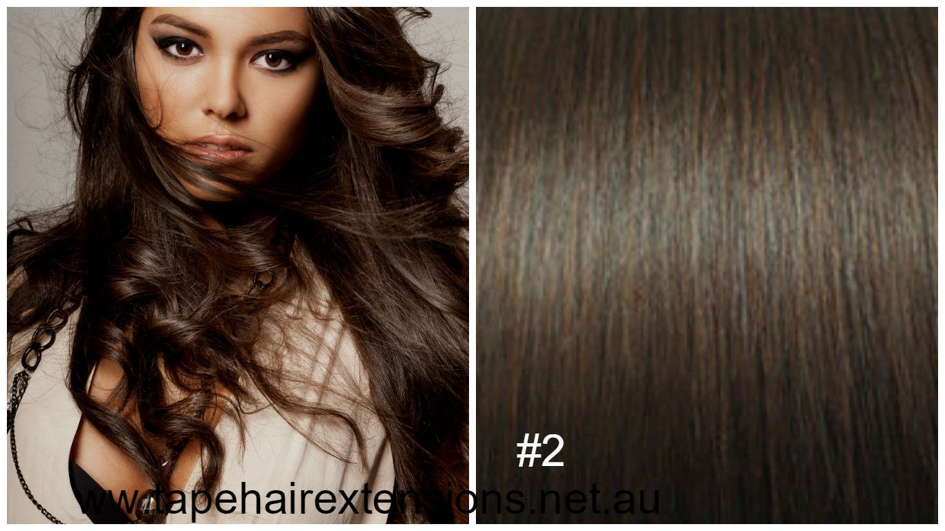 2 Chocolate Brown Hair Extensions We Supply The Worlds Best