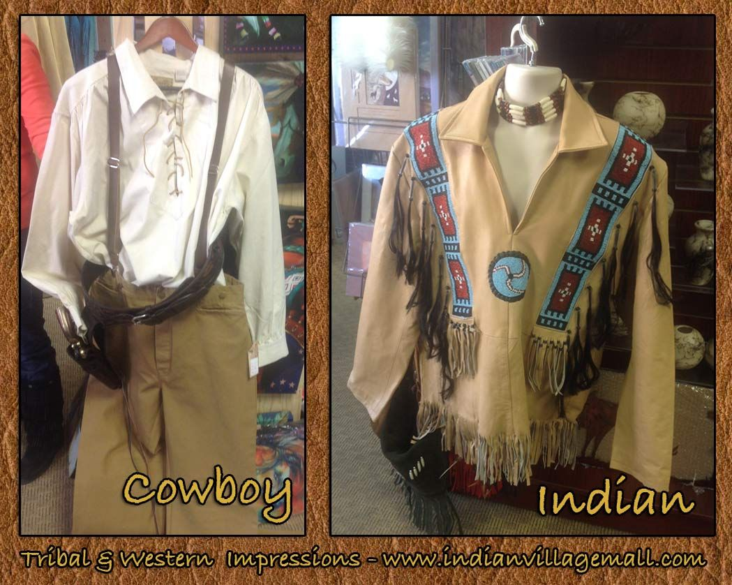 Cowboy- Indian inside Tribal And Western Impressions-http://www.indianvillagemall.com