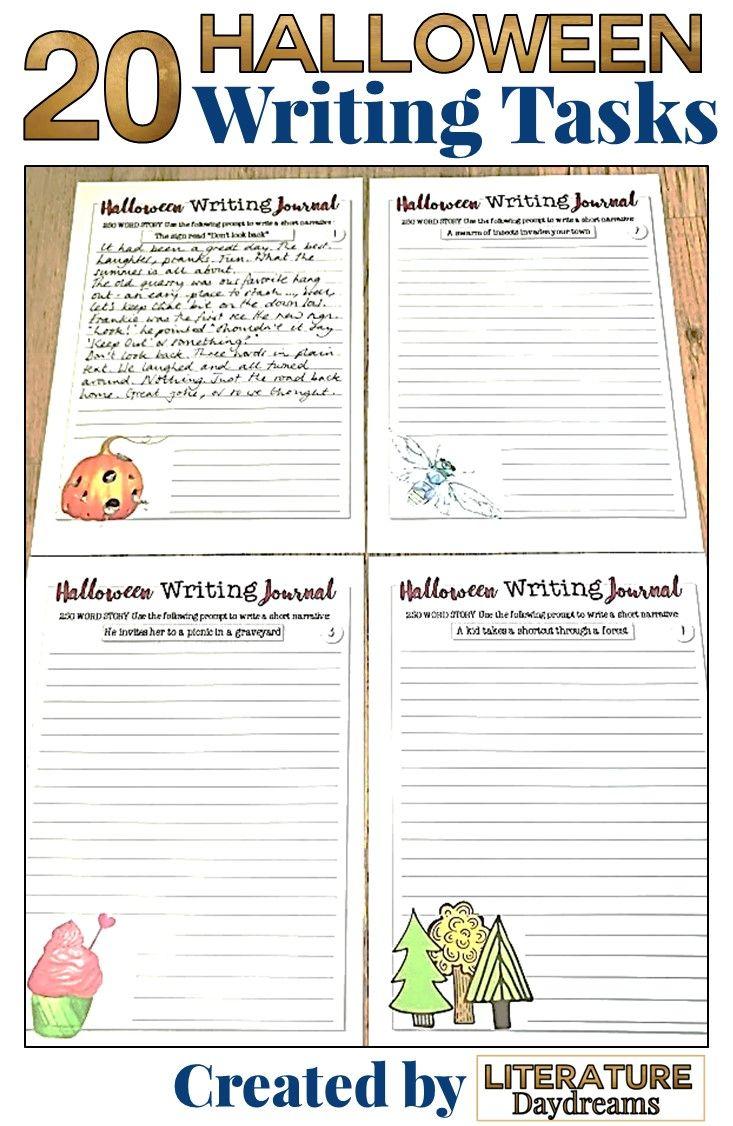 Halloween Writing Activities For Teens Halloween Writing Writing Activities Halloween Writing Activities [ 1126 x 733 Pixel ]