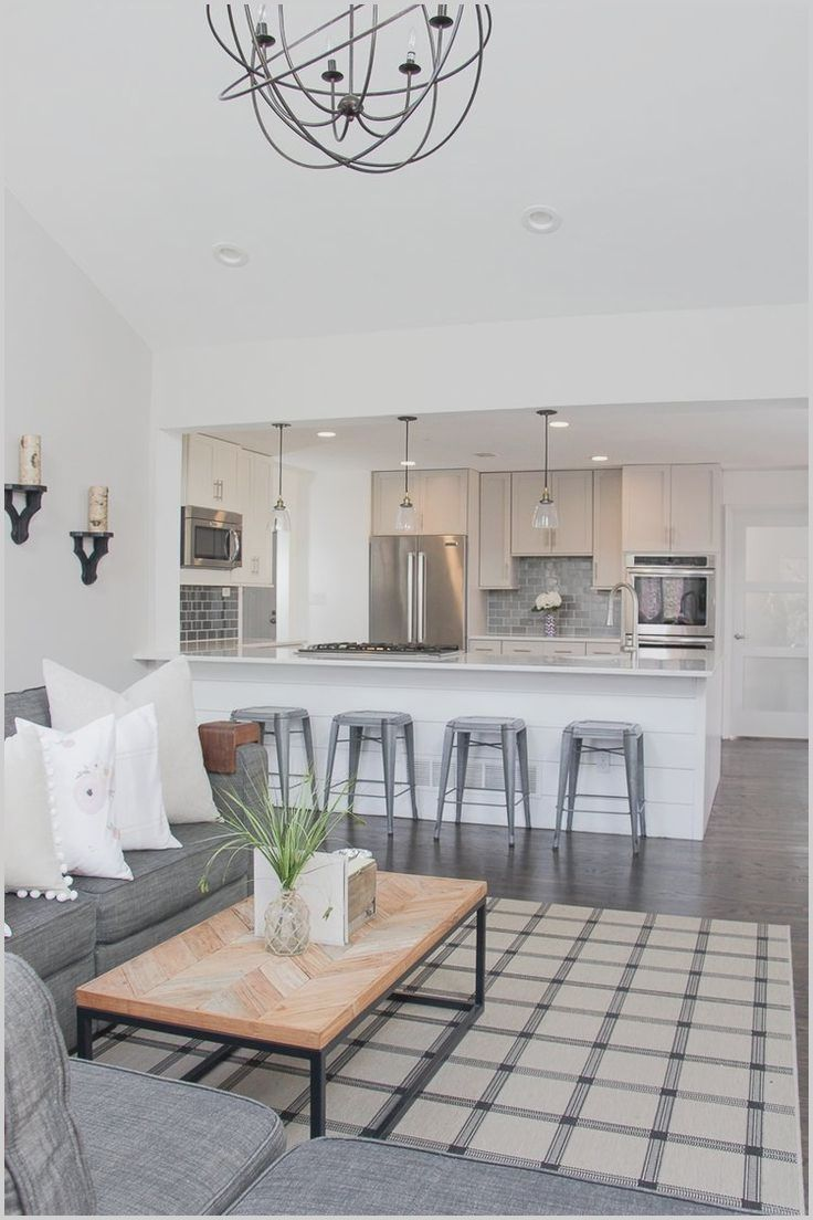Best Open Kitchen And Living Room In 2020 Open Concept Kitchen Living Room Open Kitchen And Living Room Living Room Renovation