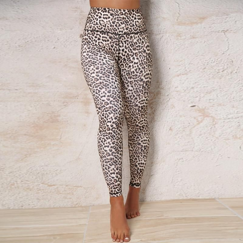 be19ccee40007 Prey High Waisted Leopard Yoga Pants - Print in 2019 | Stuff to Buy ...