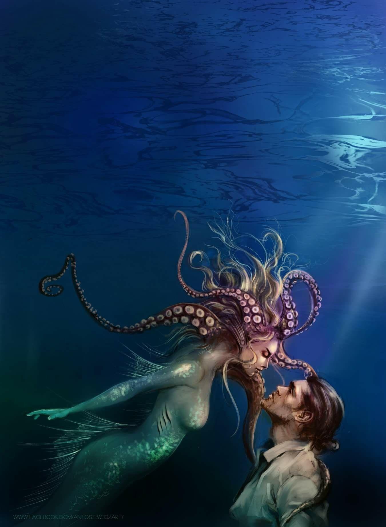 картинки подводного мира или с русалками работа низкое