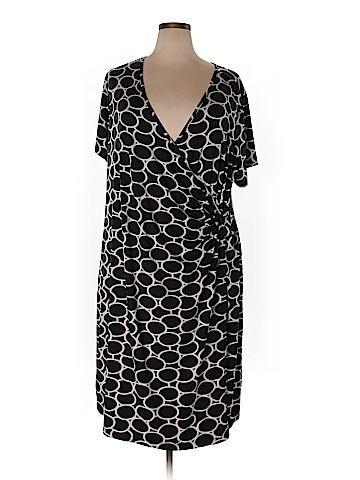 Lane Bryant Women Casual Dress Size 26/28 (Plus)